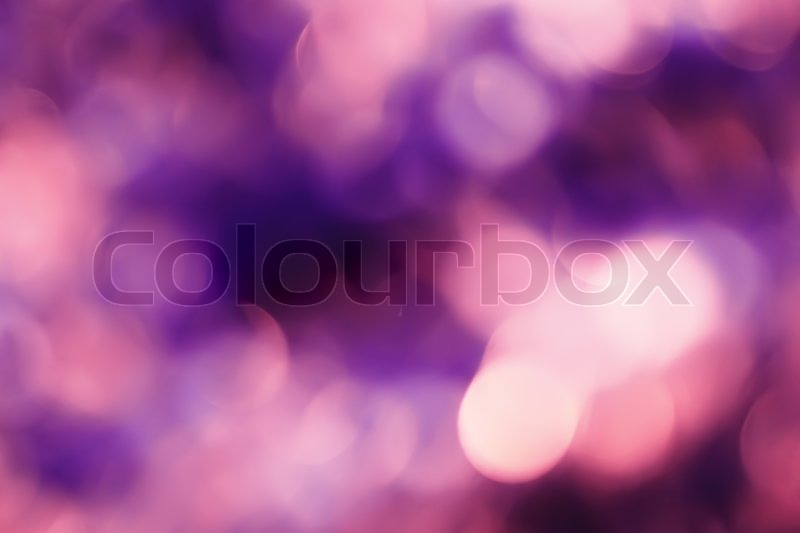 Abstract background with bokeh defocused lights and shadow.Multicolors bokeh.Vintage style.Disco lights, stock photo