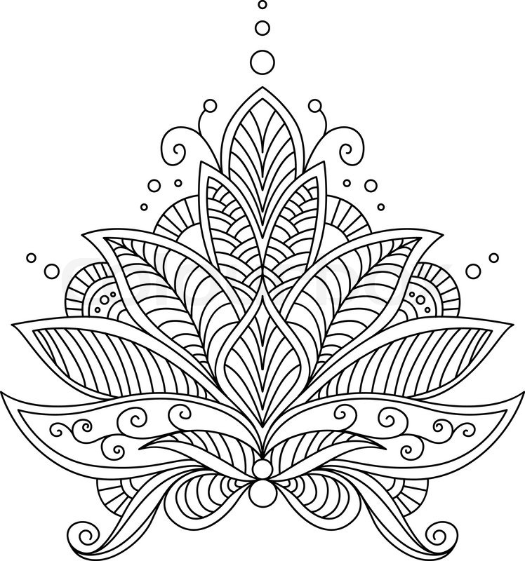 intricate shape designs coloring pages - photo#4
