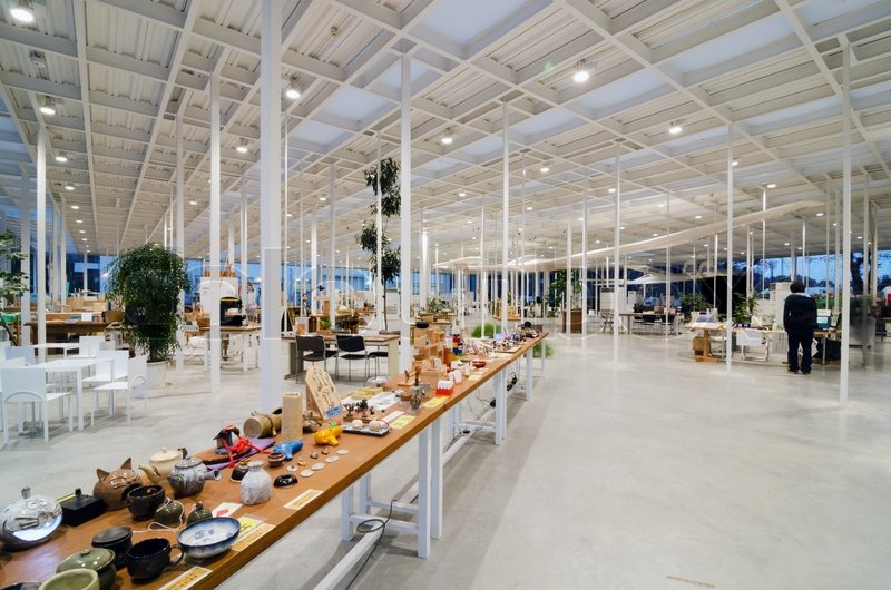 Interior of Modern Workshop in Kanagawa Institute of ...
