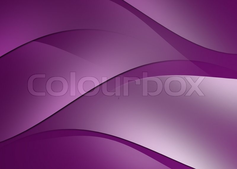 Abstract curve and line purple background, stock photo