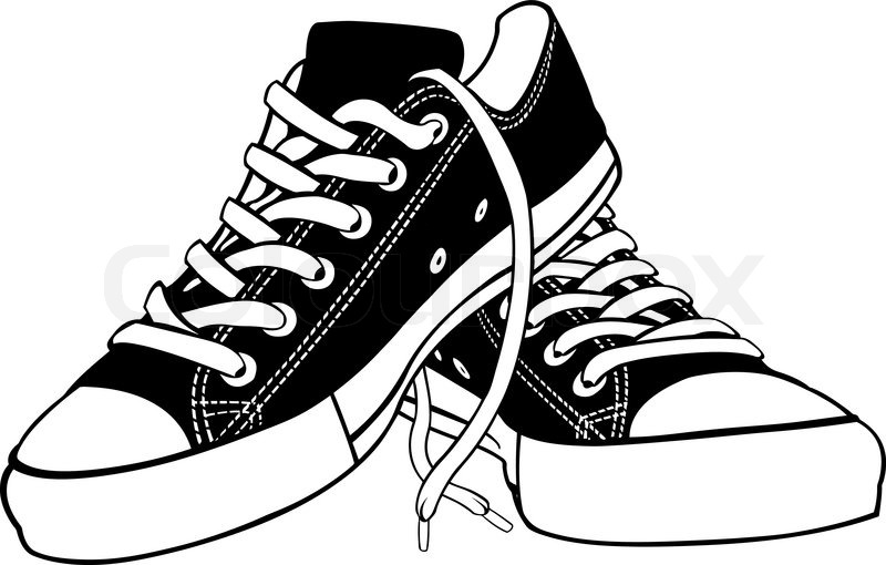 Shoe Shop Clipart Black And White