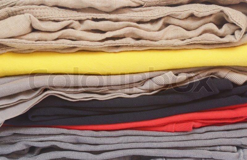 haufen kleider stock foto colourbox. Black Bedroom Furniture Sets. Home Design Ideas