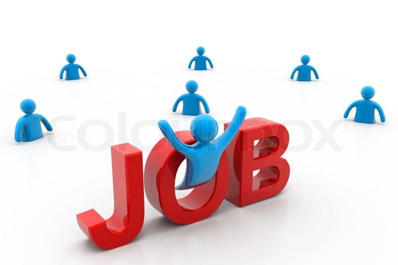 Stock image of 'job '