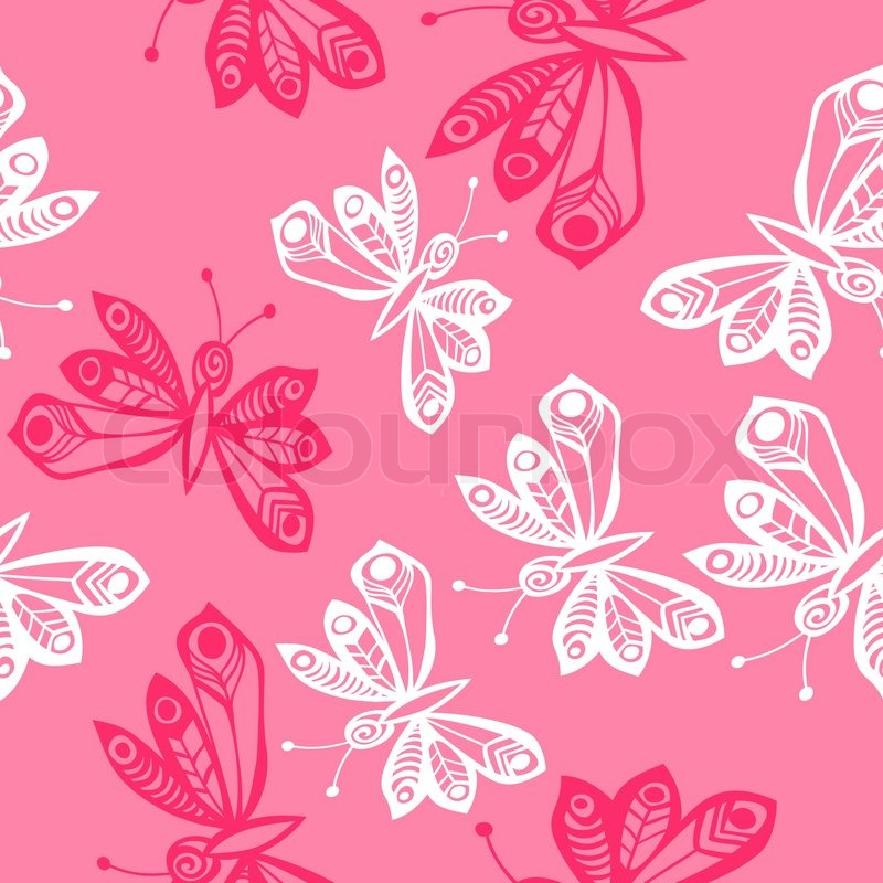 Dekoration Leuchtend Schmetterling Vektorgrafik