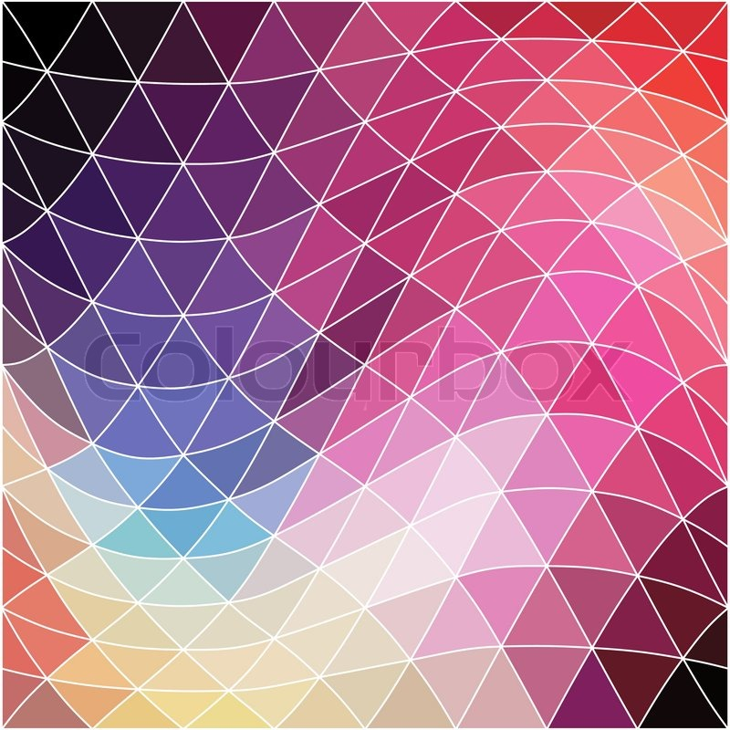 Vector background. Geometric abstract texture. Retro ...