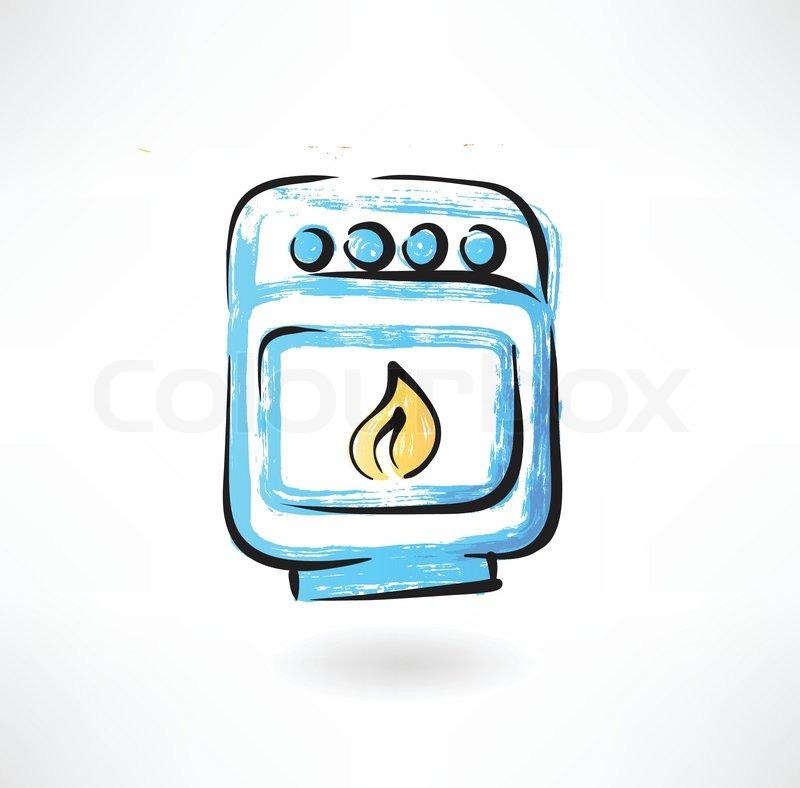 Auslage, chefkoch, koch  Vektorgrafik  Colourbox ~ Geschirrspülmaschine Zeichen