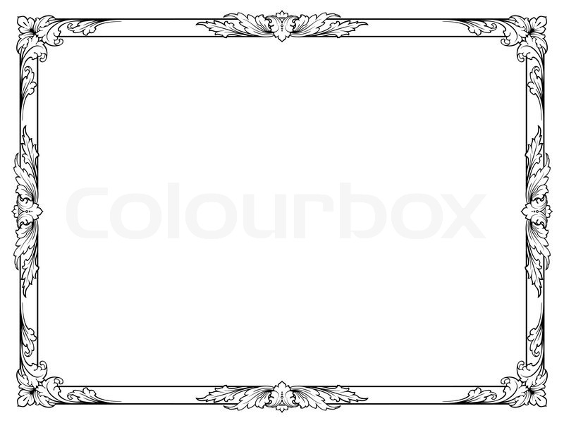 abstrakt isoliert kalligrafie vektorgrafik colourbox. Black Bedroom Furniture Sets. Home Design Ideas
