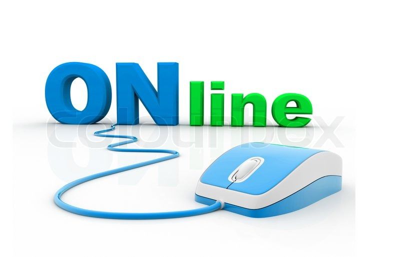 Online and computer mouse stock photo colourbox for Top us online shopping sites