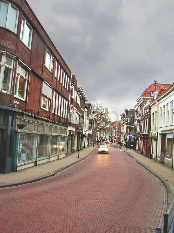 Gorinchem Netherlands  City new picture : 9438680 on the streets of the dutch city of gorinchem netherlands