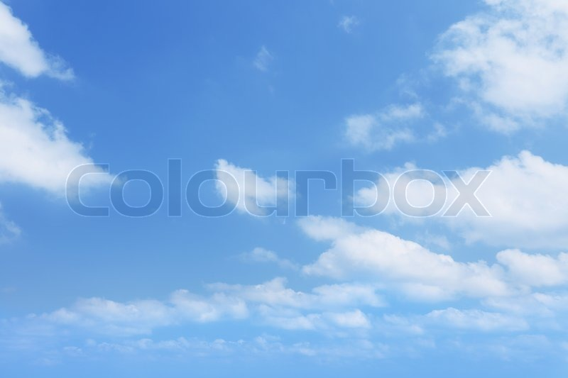 Stock image of 'background of clear blue sky'