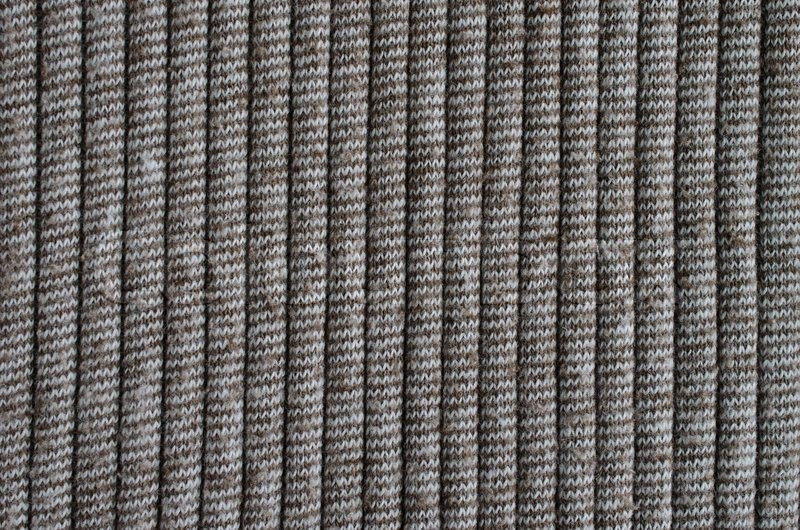Stock image of 'Brown knitting wool texture background'