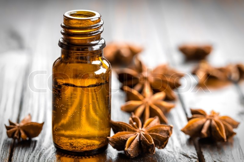 Stock image of 'Anise oil'
