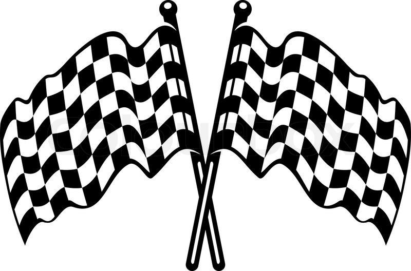 Image result for black and white checkered flag