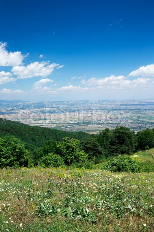 Stock image of 'Mountain landscape at the Greece'