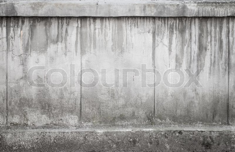 Stock image of 'Old dark gray concrete wall. Background photo texture'