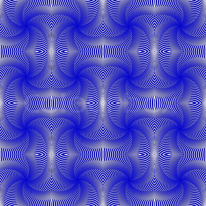 Seamless Colorful Whirl Motion Pattern Abstract Decorative Lines