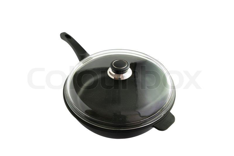 Stock image of 'Pan and lid'