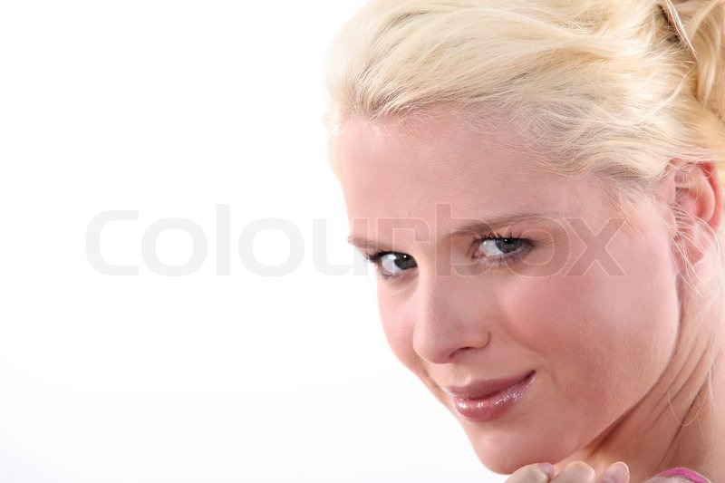 Stock image of 'Blond woman'