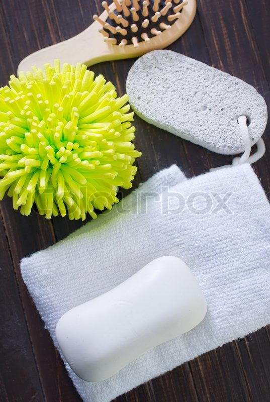 Stock image of 'Objects for bath'