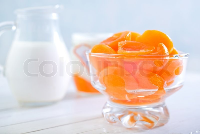 Stock image of 'Apricots'