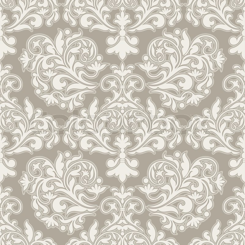 Vector wallpaper floral wrapping paper swatch fabric for decoration
