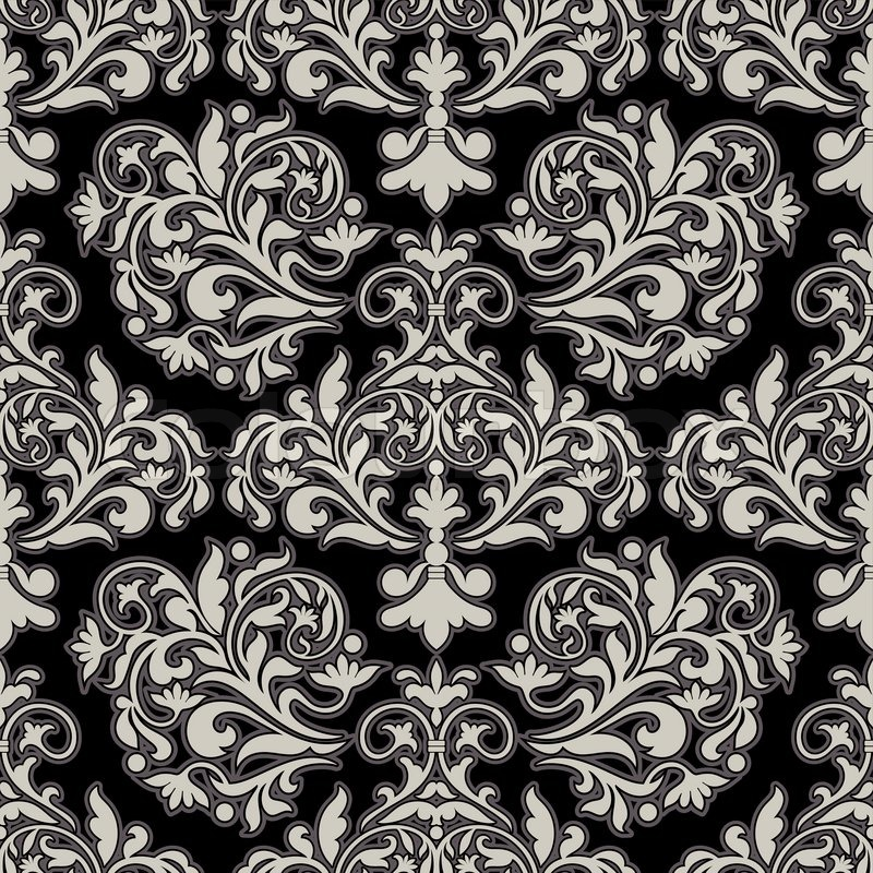 Damask beautiful background with rich old style luxury ornamentation