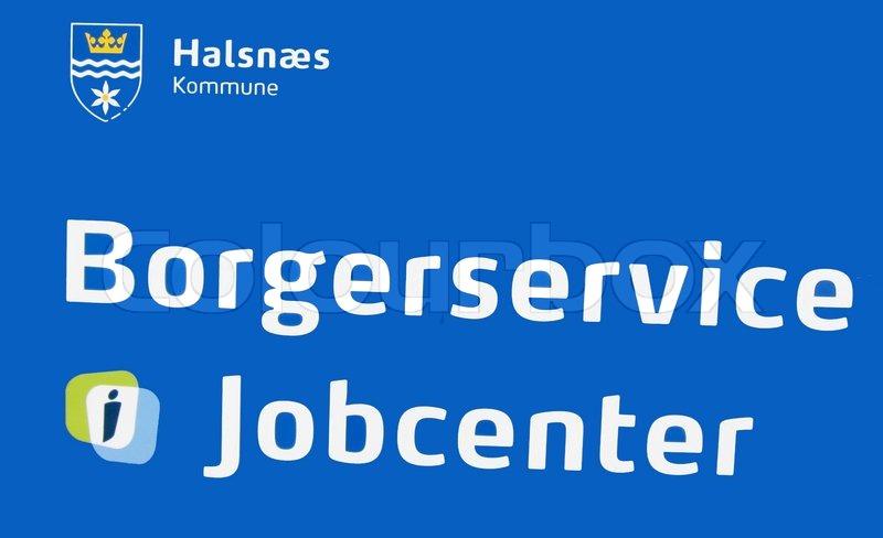Borgerservice Og Jobcenters Stock Foto Colourbox