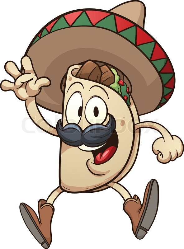 dancing taco coloring pages - photo#25