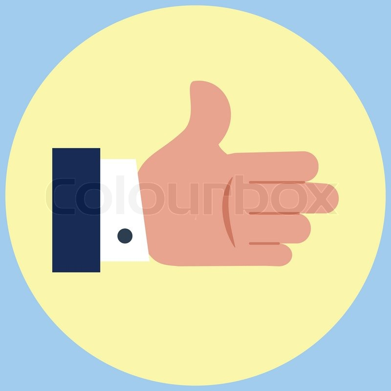 Open Hands Icon Open Hand Flat Iconno