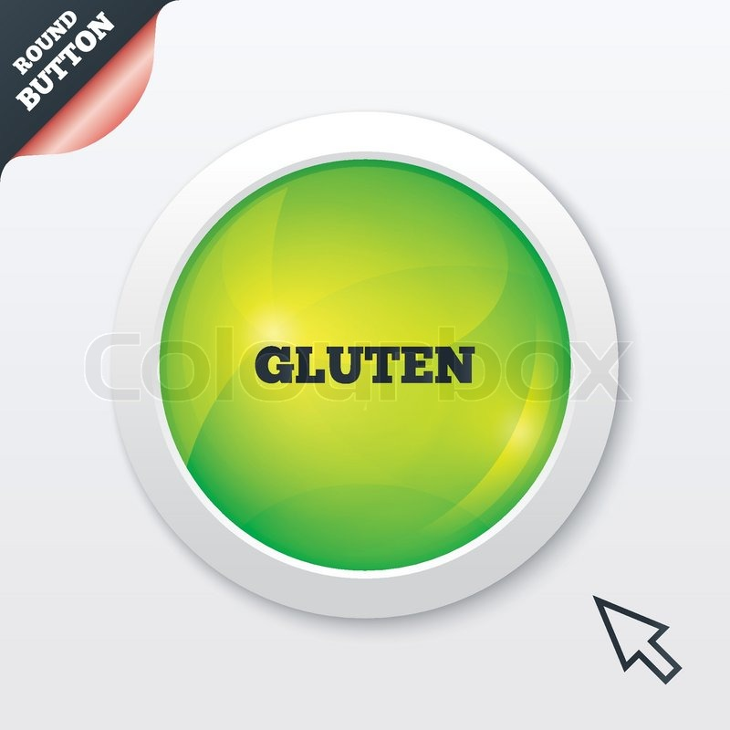 Gluten free sign icon  No gluten     | Stock vector | Colourbox