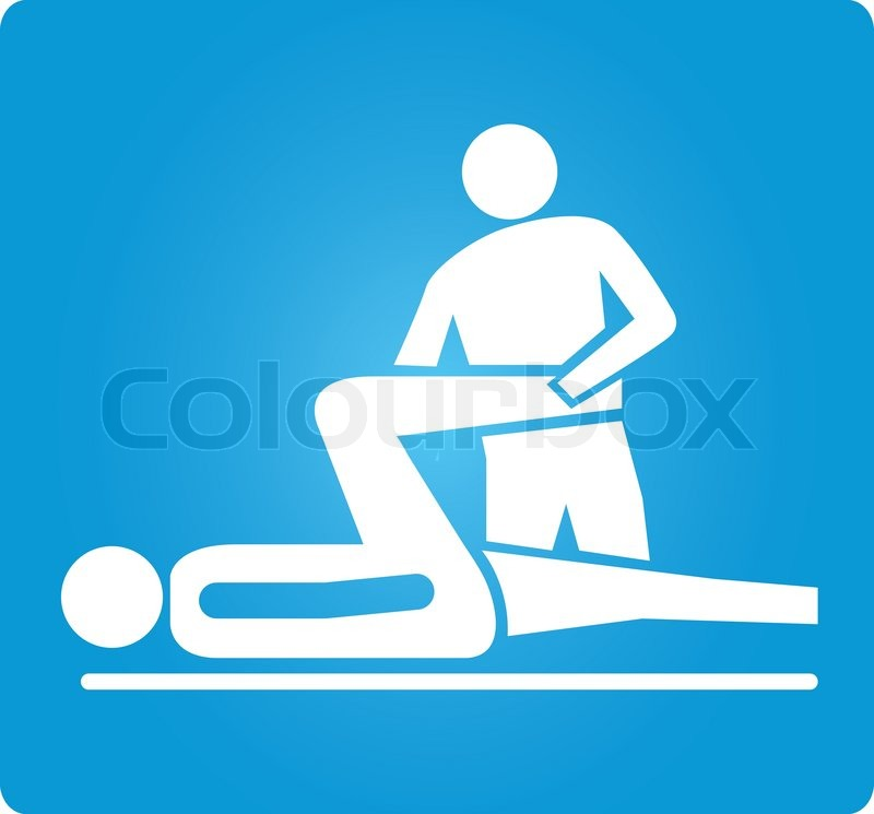 Physical Therapy Symbol Stock Vector Colourbox