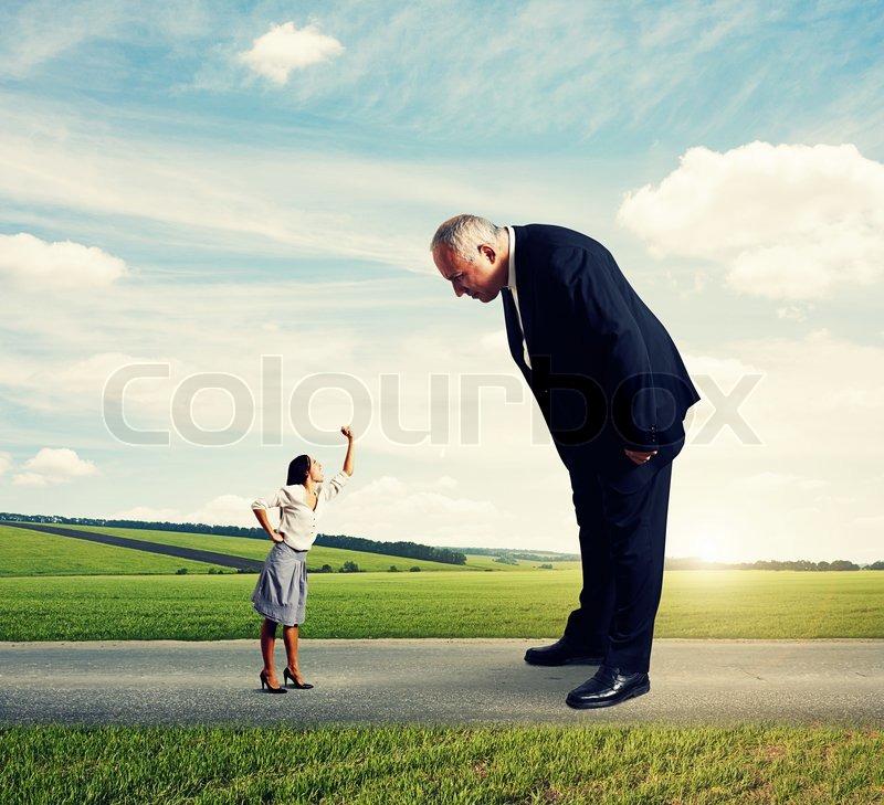 Großer mann sucht kleine frau