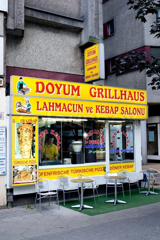 Doyum Grillhaus In Berlin Stock Photo Colourbox