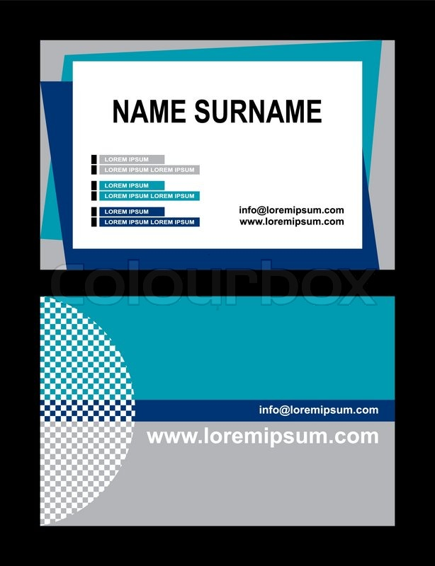 Custom Card Template » Sample Of Id Card Template - Free Card
