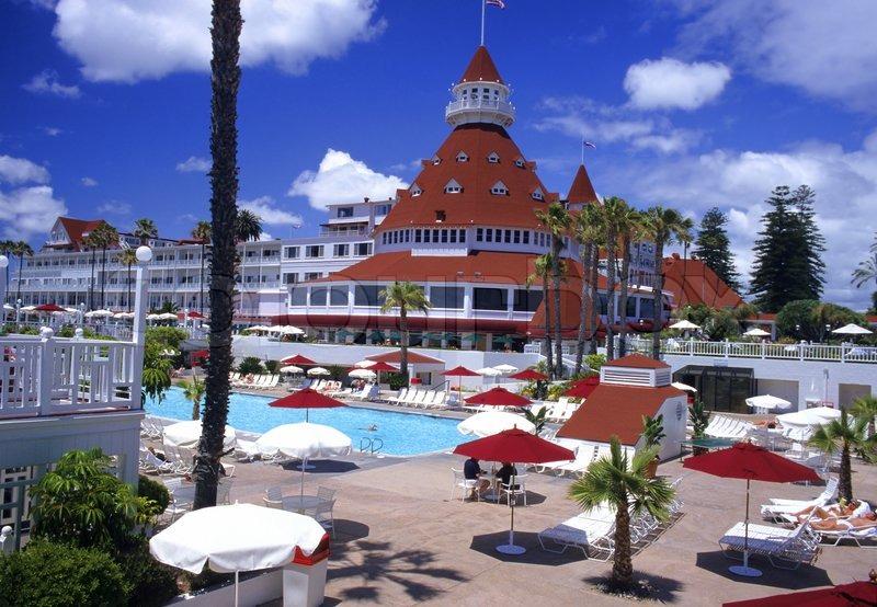 The Historic Hotel Del Coronado In San Go California Is