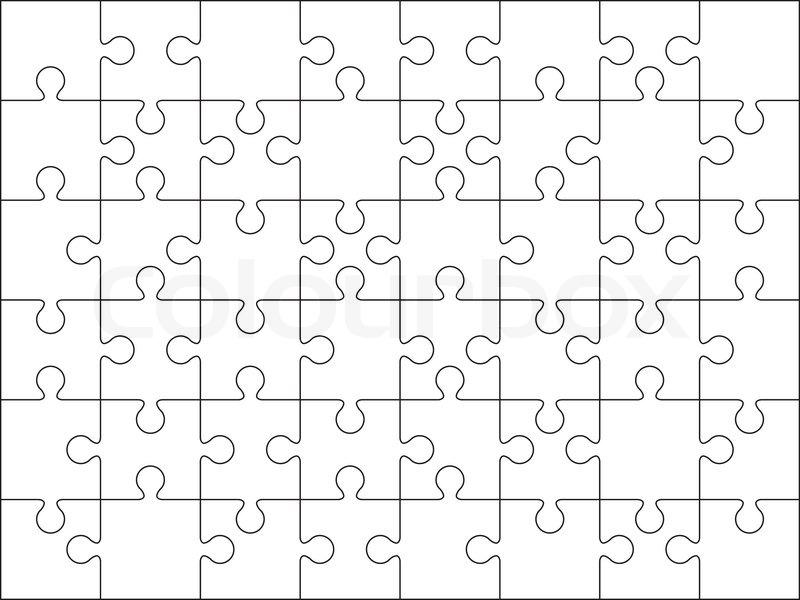 Puzzle Basteln Selber Machen Druckvorlagen 5