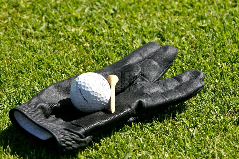 Stock image of \'golf, ball, meadow\'