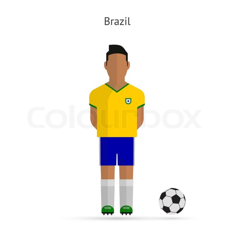 National football player. Brazil ...  a0ca0f66e