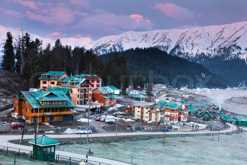 Gulmarg Ski Resorts Srinagar Kashmir India