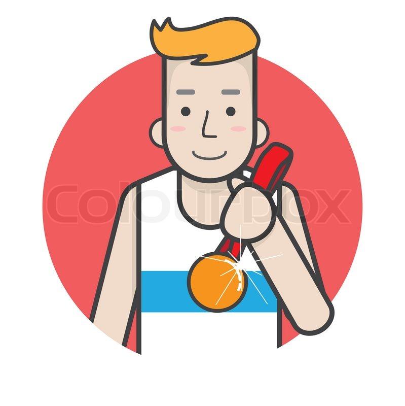 Running Logo Vector Stock Vector of 39 Running Man