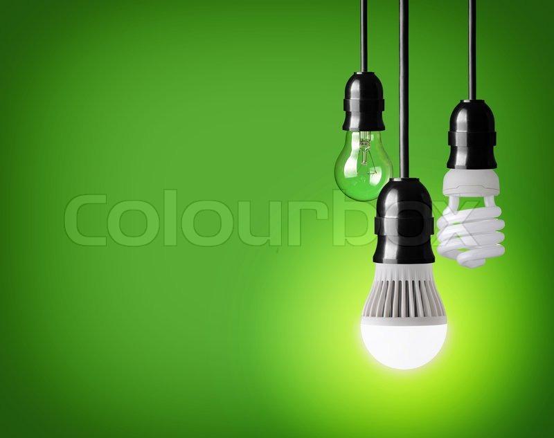 hanging tungsten light bulb