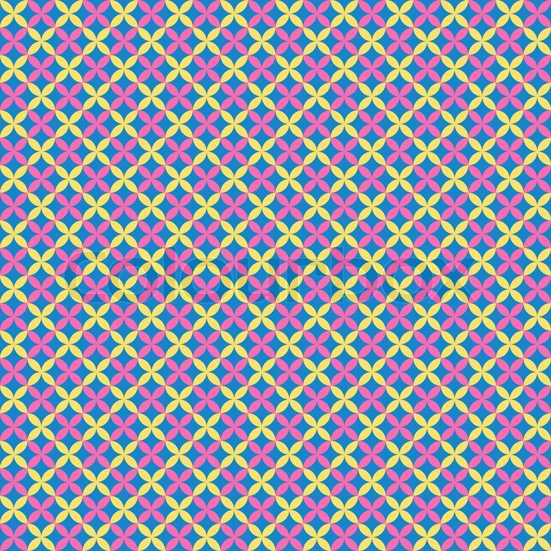 Colorful Flower Pattern Wallpaper Flower Pattern Wallpaper