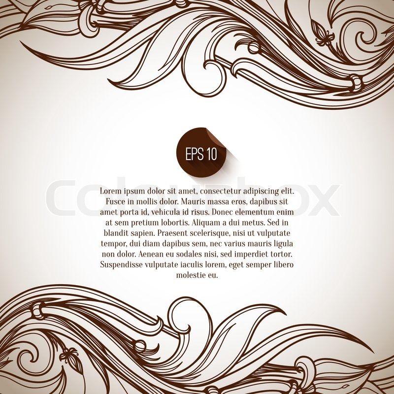 Seamless background. Abstract Retro Vintage background. Vector ...