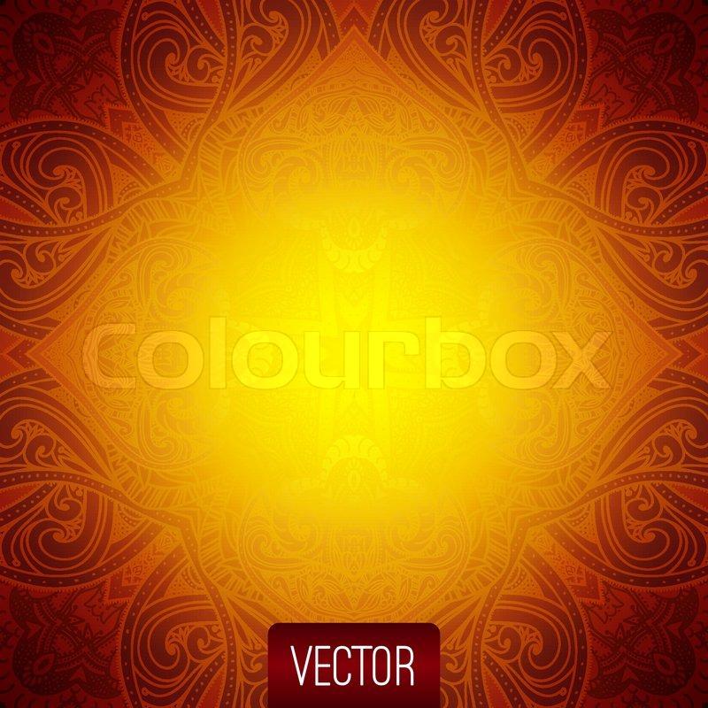 vektor abstrakt islamische muster muster orientalisch vektor illustration floral hintergrund. Black Bedroom Furniture Sets. Home Design Ideas