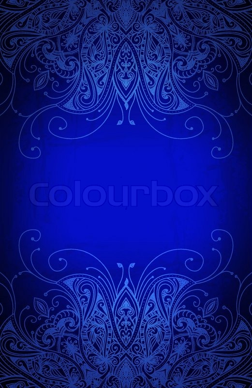 Vintage Vector Pattern Hand Drawn Abstract Background