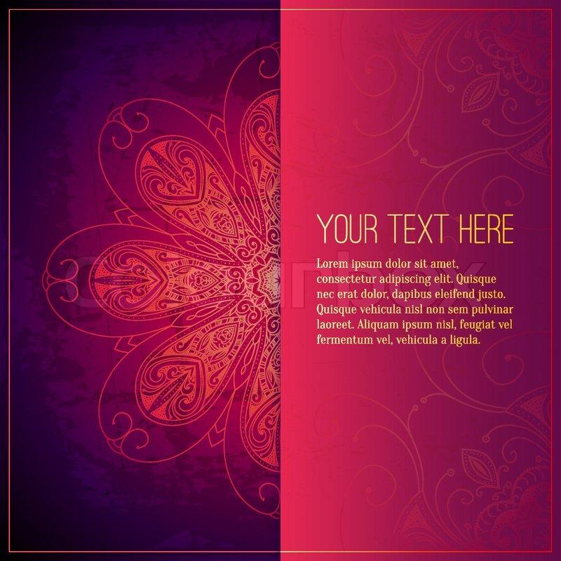 Book Cover Background Questions : Abstrakt luxus schmuck vektorgrafik colourbox