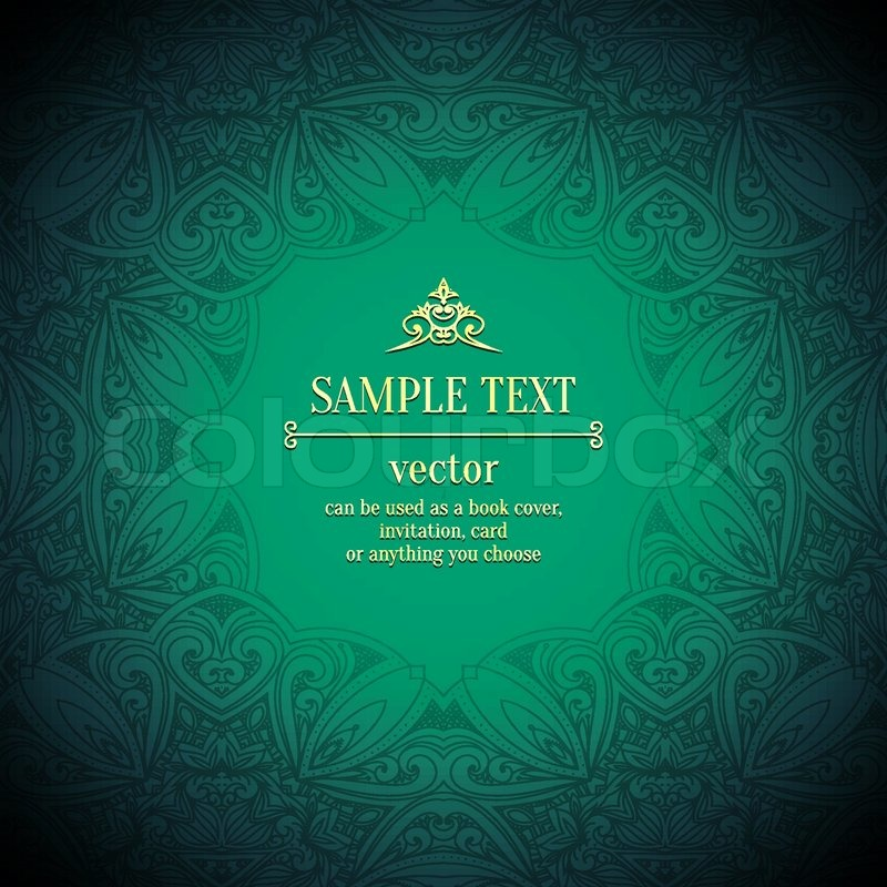 Arabic Invitation Cards with nice invitations layout