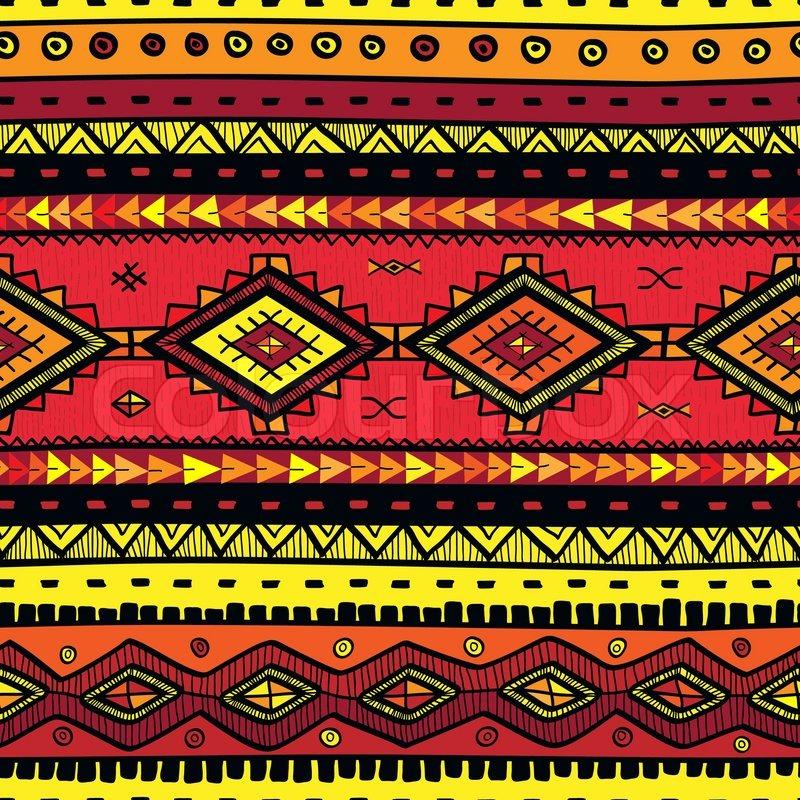 Schwarze Tapete Gl?nzend : Tribal Print Pattern Wallpaper