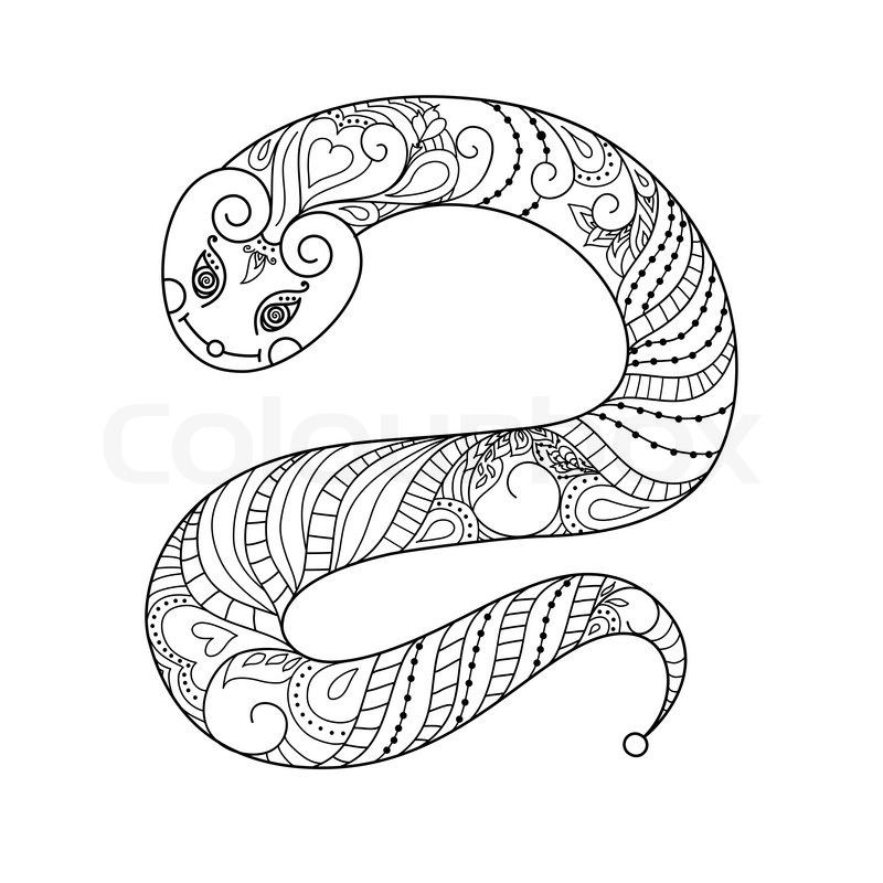 happy new year 2013 snake year vector black and white silhouette vector mascot can be used. Black Bedroom Furniture Sets. Home Design Ideas