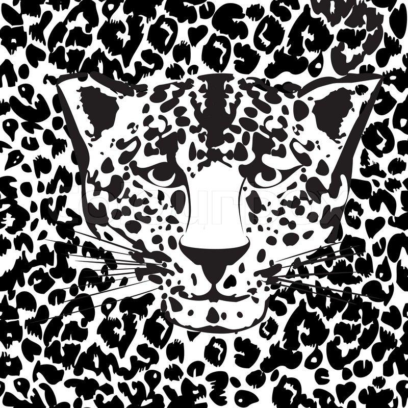 Seamless Animal Fur Pattern Vector Cheetah Leopard Tiger